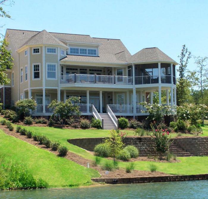 Stunning Custom Built Waterfront Masterpiece luxury homes
