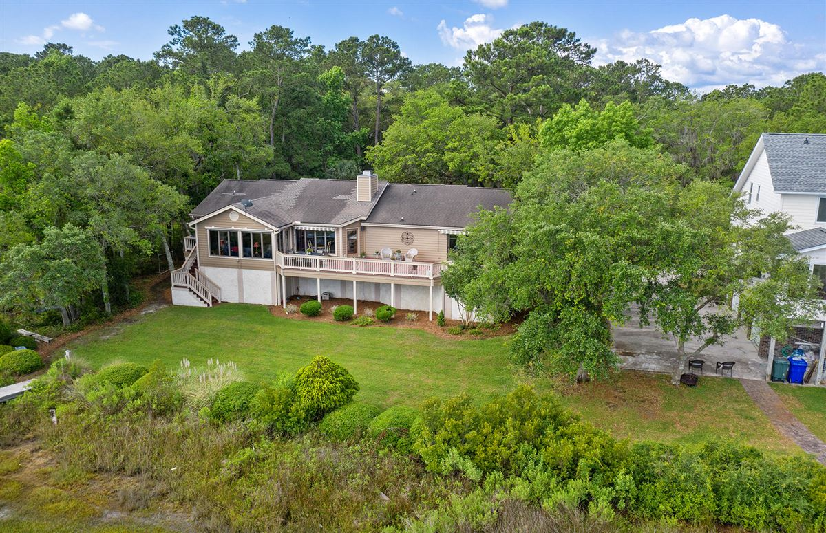Luxury real estate Deepwater home on the stono river