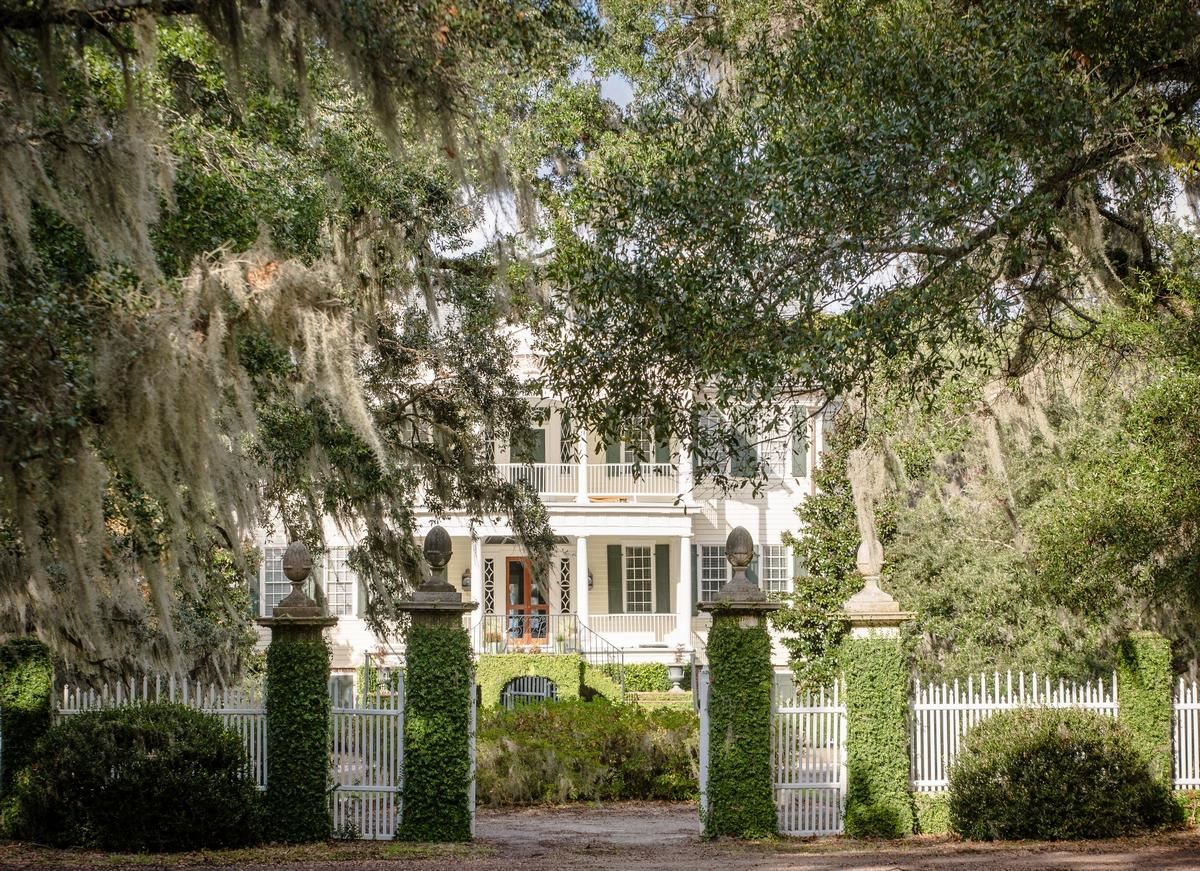 Luxury properties  William Seabrook Home in South Carolina