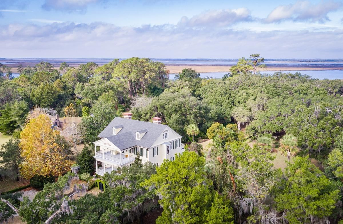 Mansions  William Seabrook Home in South Carolina