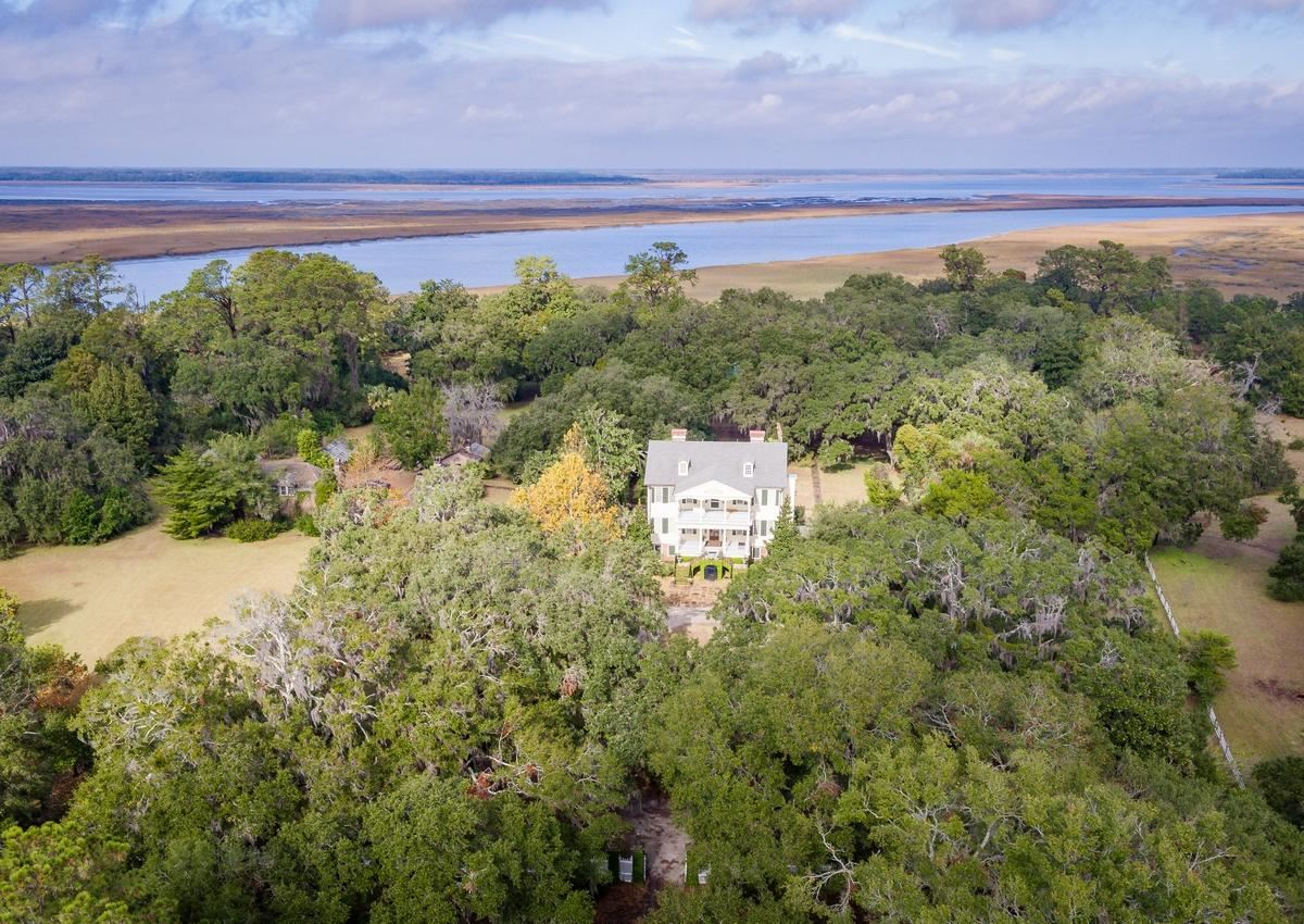 William Seabrook Home in South Carolina mansions