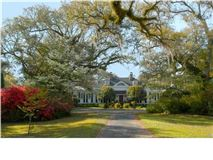 Mansions in Picturesque Plantation home in georgetown