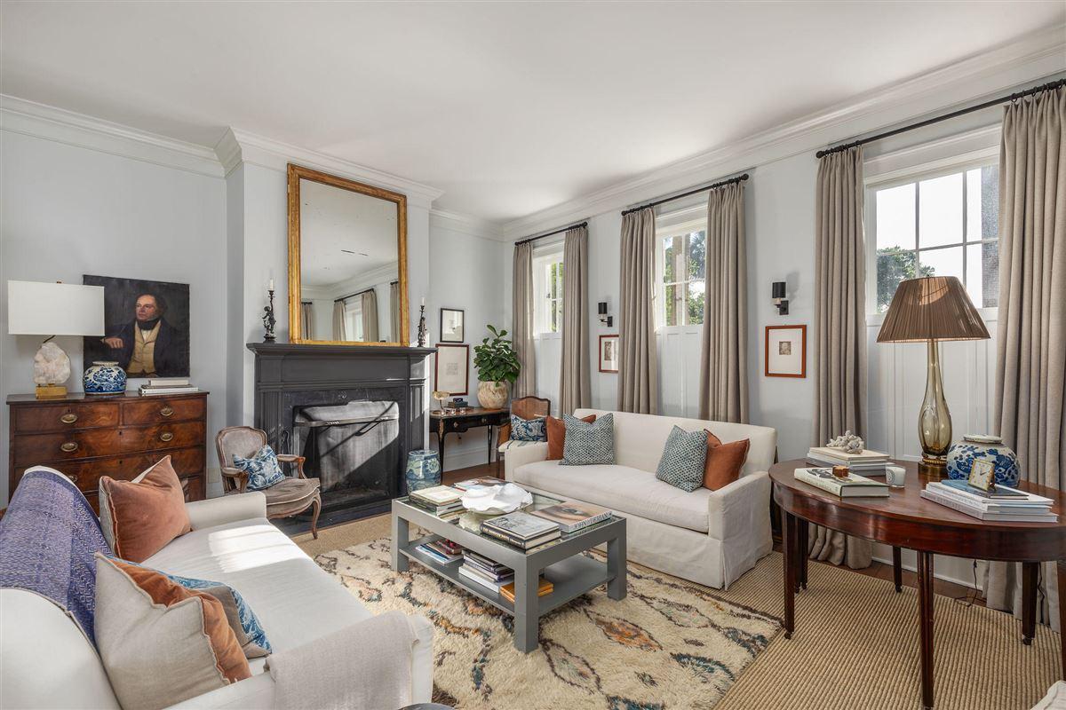 historic Rainbow Row home luxury real estate