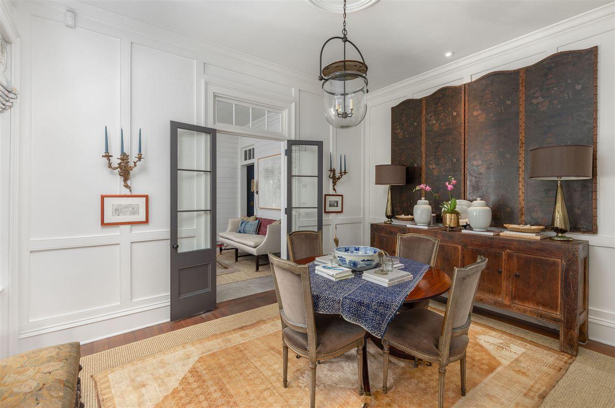 Luxury homes in historic Rainbow Row home