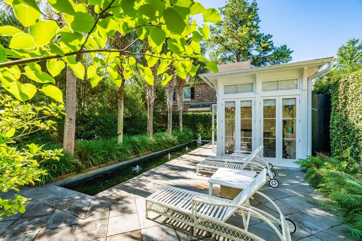 Luxury homes in chic compound in historic south of broad