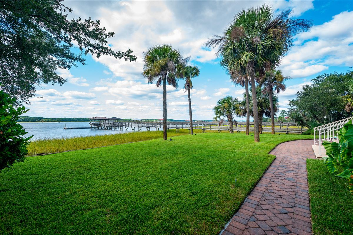 Luxury real estate private island waterfront living