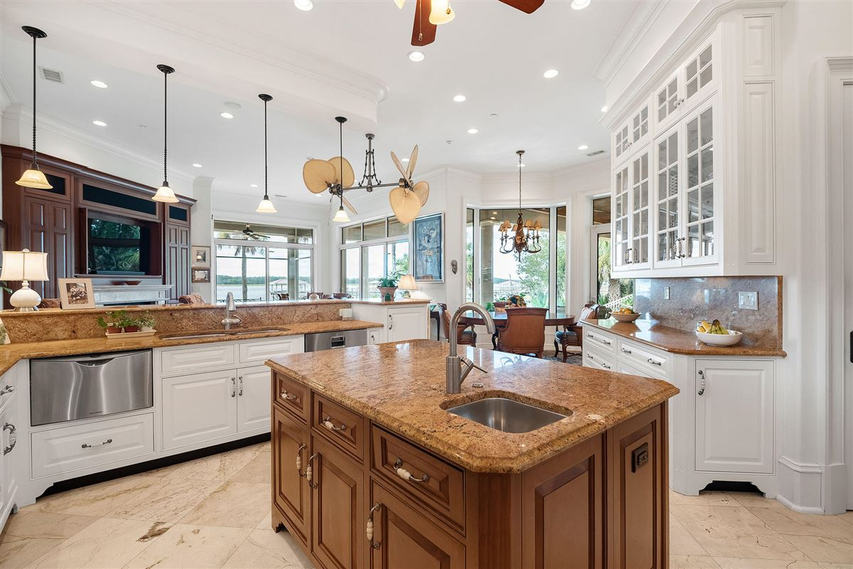 Luxury homes private island waterfront living