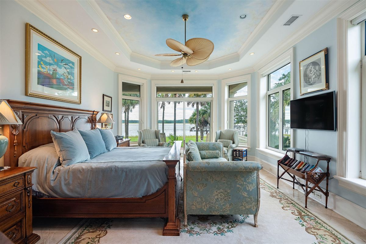 private island waterfront living  luxury real estate