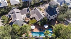 Luxury homes in unique Rosemary Beach compound