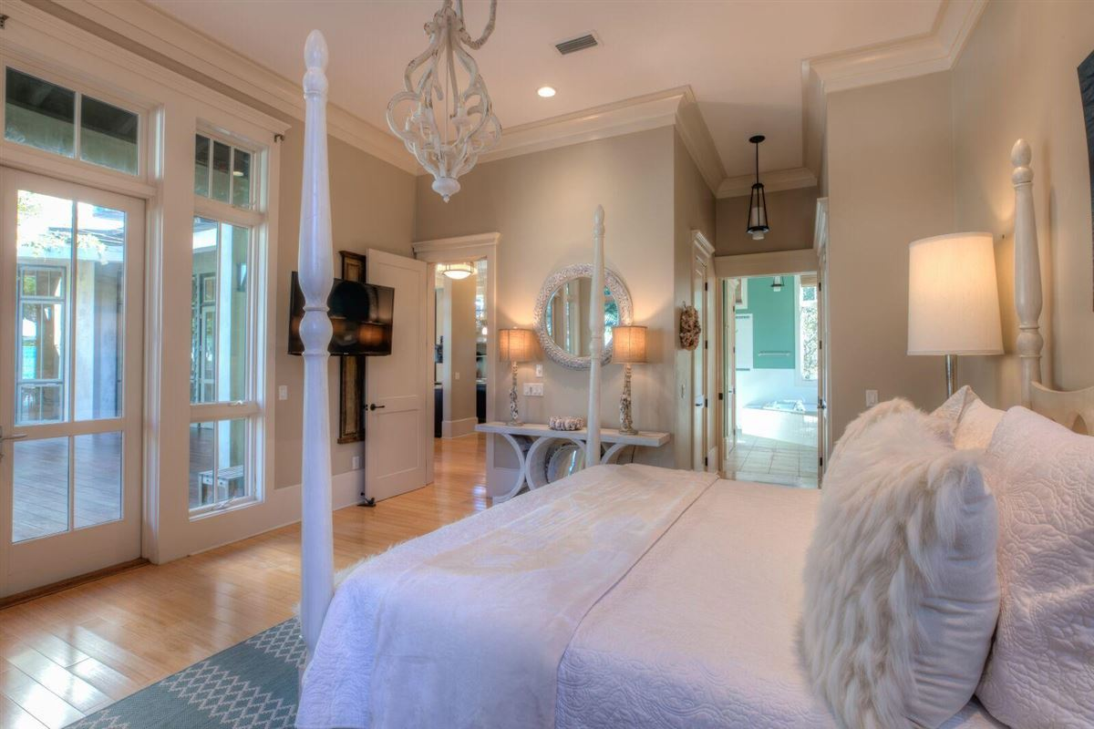 Luxury homes unique Rosemary Beach compound