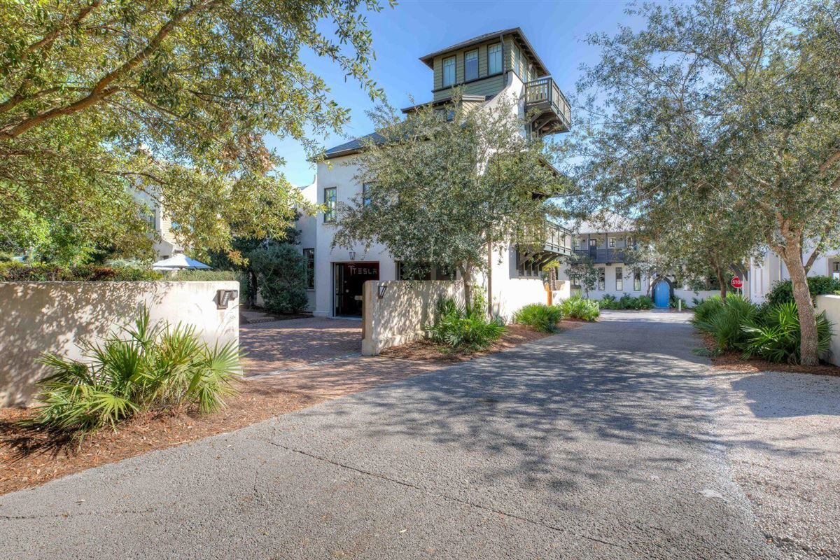 unique Rosemary Beach compound mansions