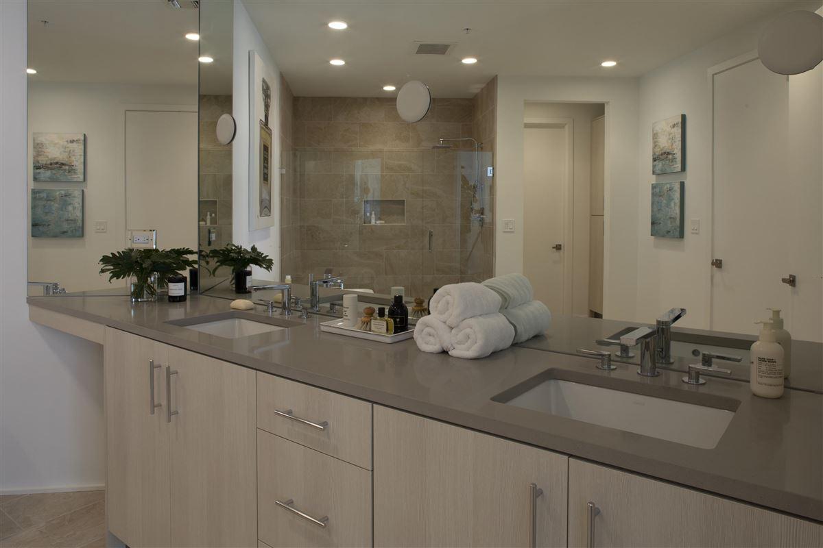 Luxury real estate large three bedroom floor plan