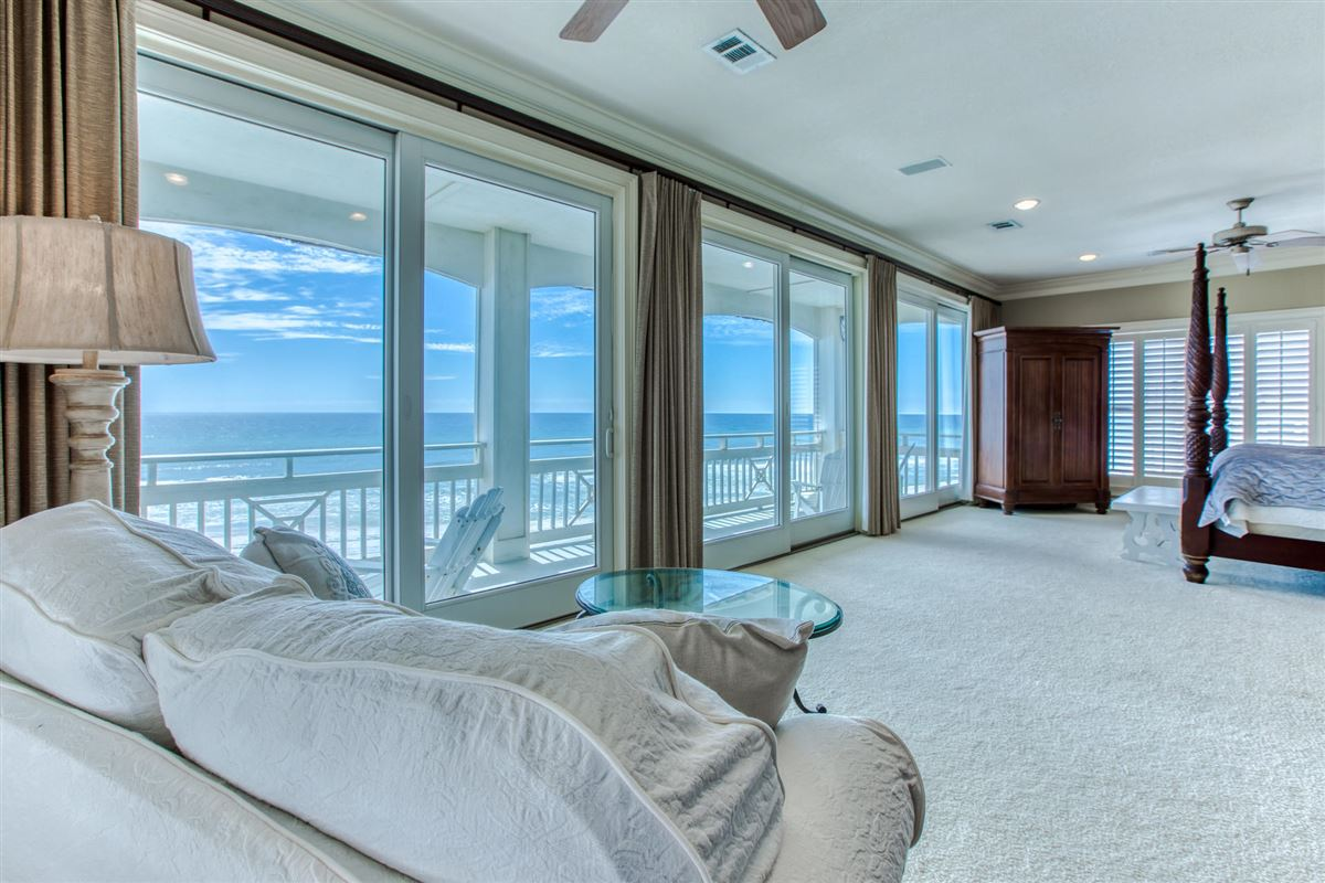 Luxury real estate Private gulf-front home on prime beach