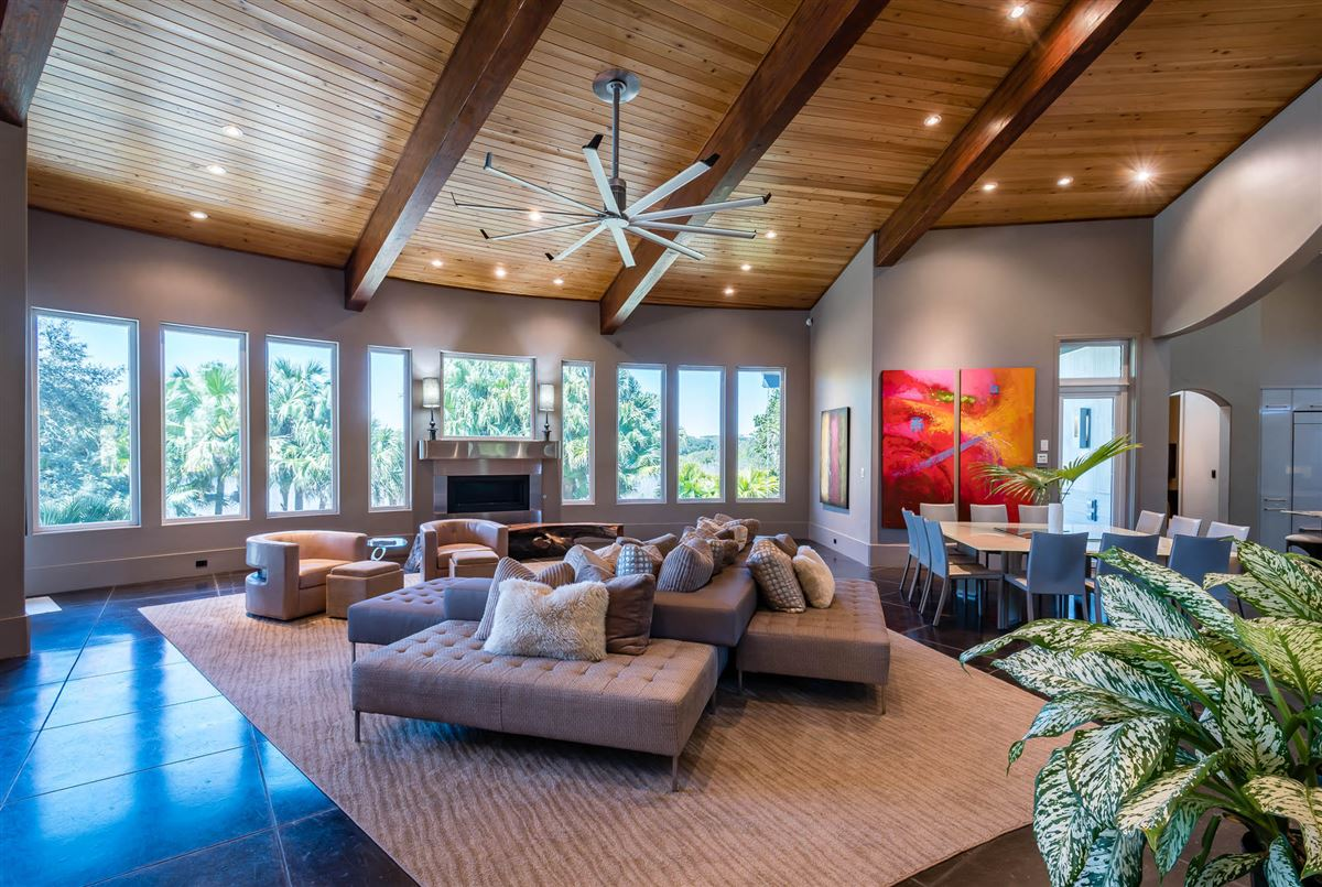 Luxury real estate stunning modern home with unobstructed panoramic gulf views
