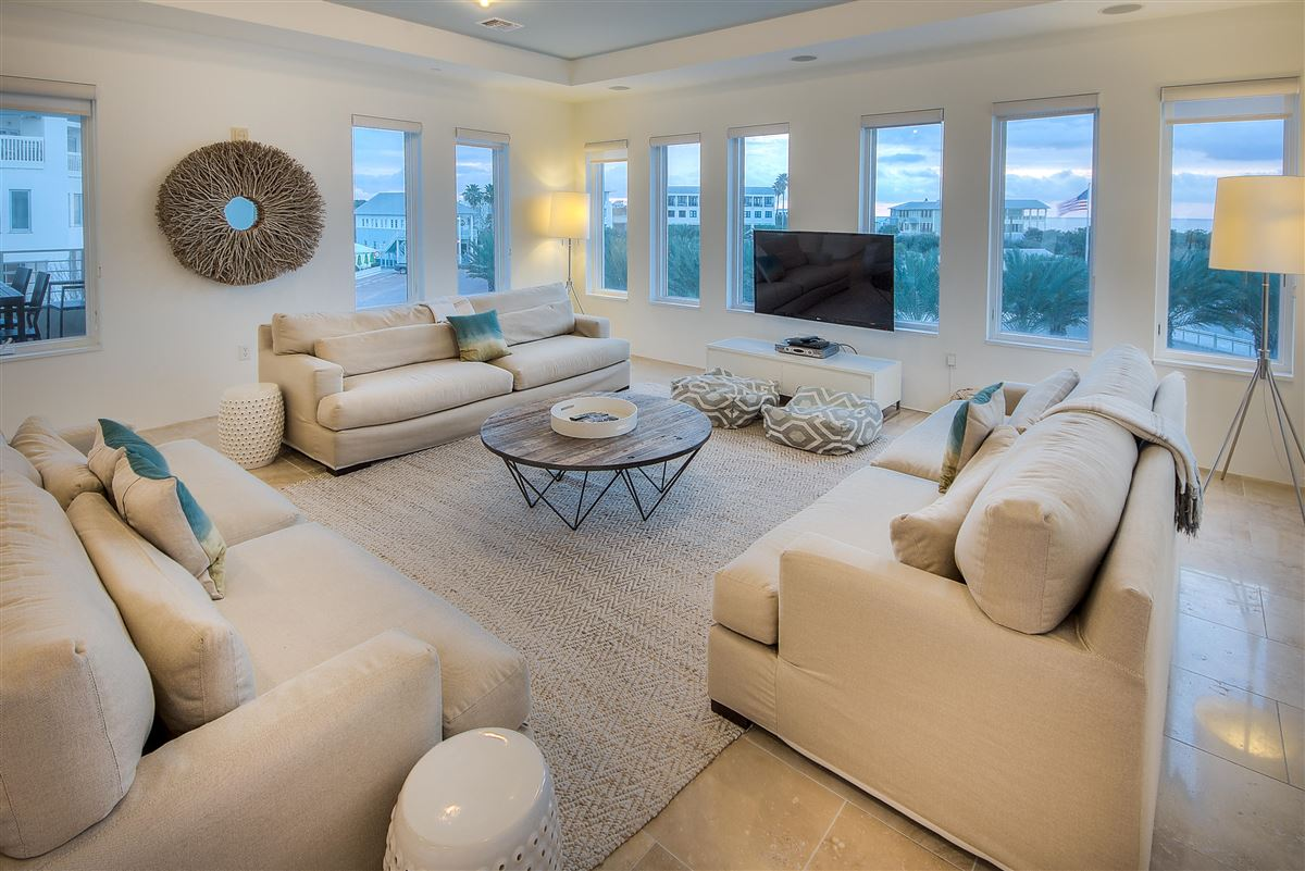 Luxury Seaside condo with Ampitheatre and Gulf views  luxury real estate