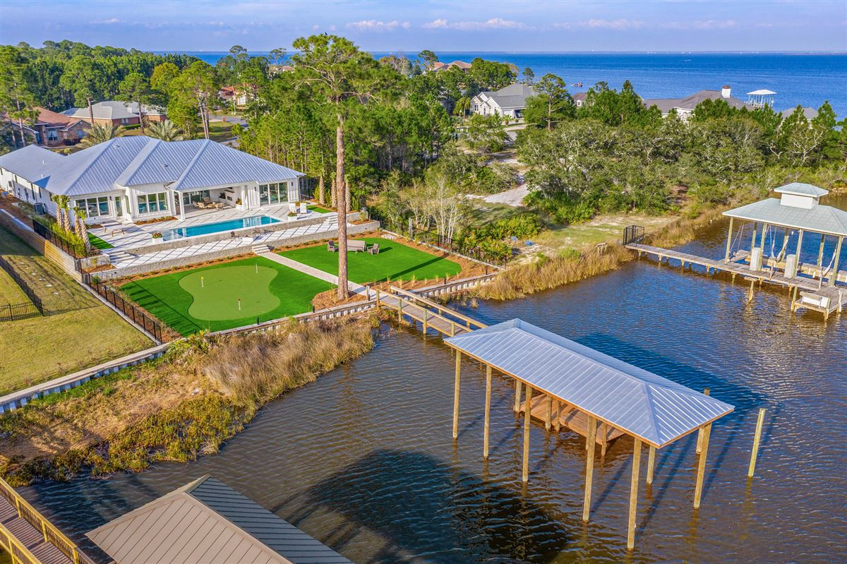 the perfect Waterfront Property luxury real estate