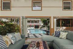 Mansions in luxury Hawaiian home on an esteemed street