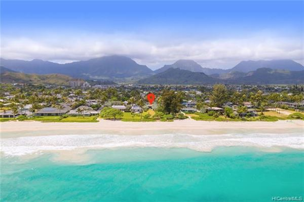 Luxury homes one of the most BREATHTAKING beachfront neighborhoods on Oahu