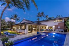Rustic Modern Kahala Home mansions