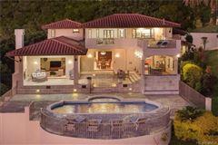 Luxury homes in beautiful hillside villa