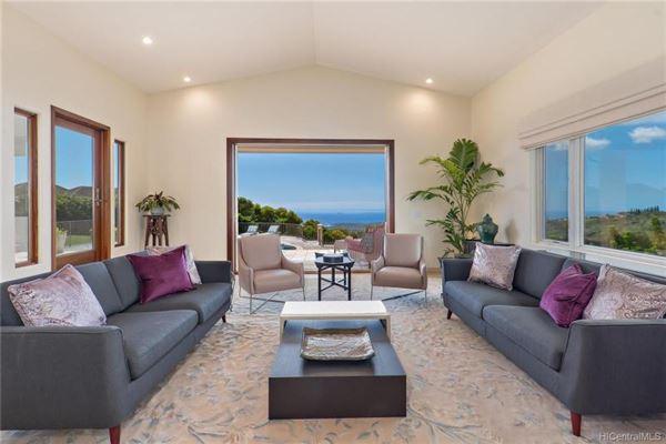 Luxury real estate beautiful hillside villa