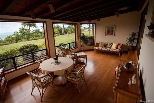 Luxury homes tranquil oasis high above Kaneohe Bay