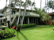 beach front estate with views of hawaiian sunsets mansions