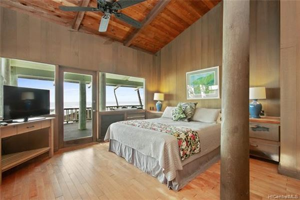 Luxury properties beach front estate with views of hawaiian sunsets