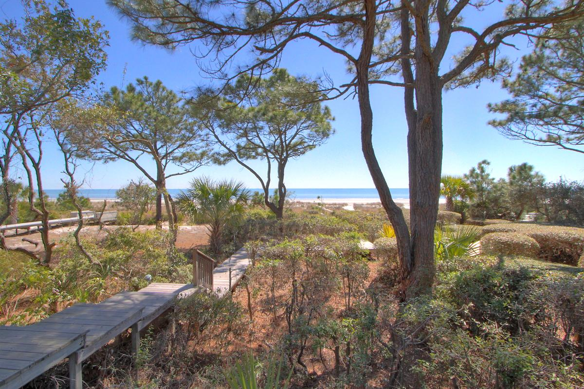 Mansions in Sea Pines oceanfront home