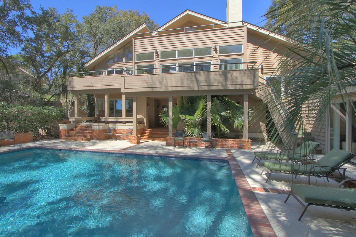 Luxury real estate Sea Pines oceanfront home