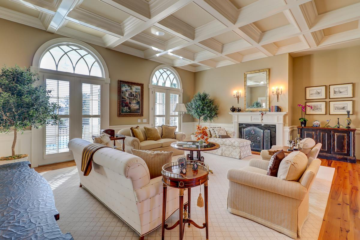 beautiful home in Colleton River Plantation mansions