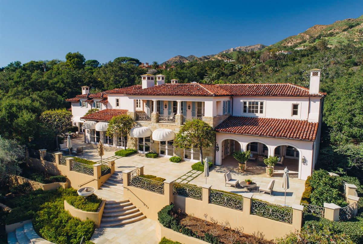 Luxury real estate remarkable transformation in Montecito