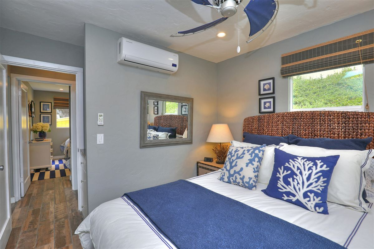 Luxury homes in delightful two-bedroom cottage