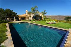 Mansions  20 acre hilltop estate in santa ynez