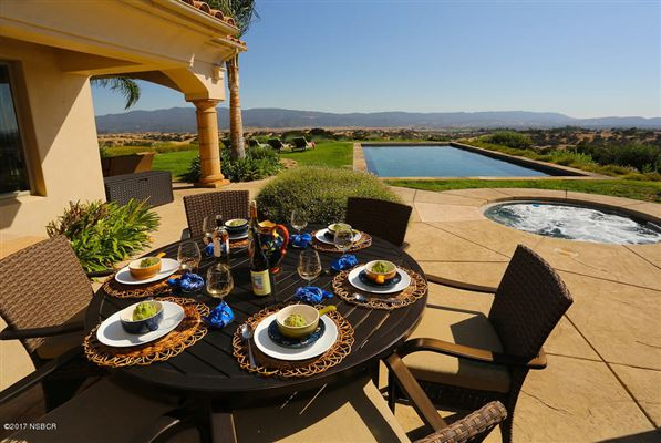 Luxury homes  20 acre hilltop estate in santa ynez