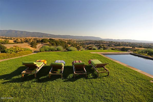 Luxury real estate  20 acre hilltop estate in santa ynez