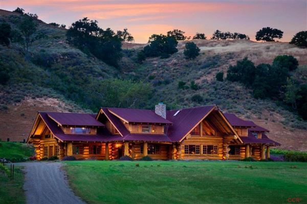 Epic Log Home California Luxury Homes Mansions For