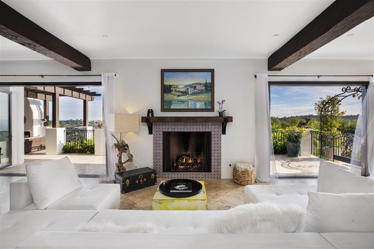 Luxury homes Newly renovated Mediterranean masterpiece