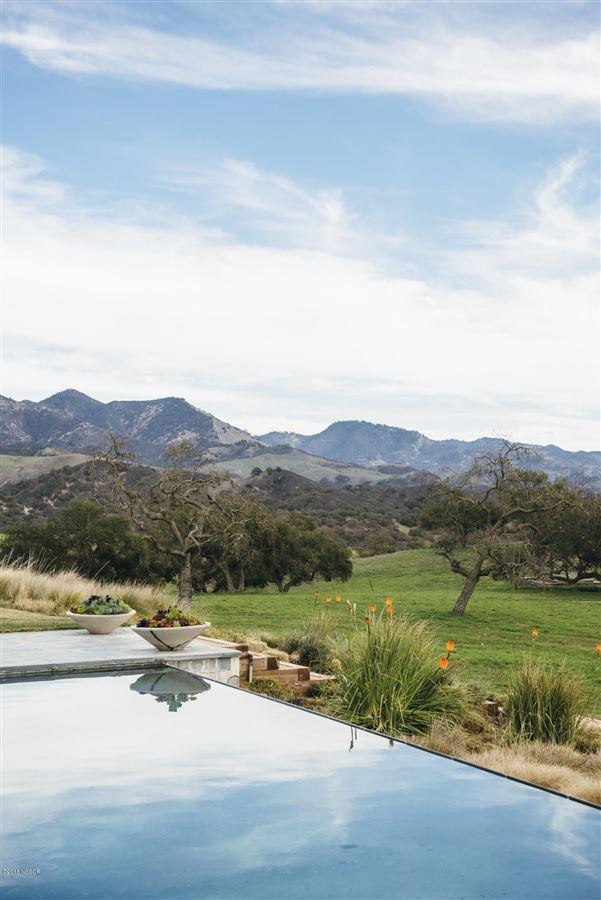 Mansions in  remarkable Rancho La Zaca home