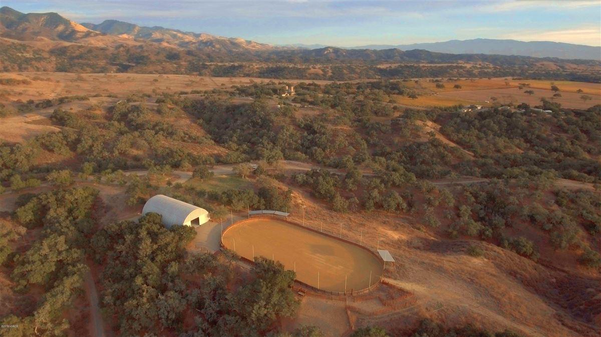 Mansions  remarkable Rancho La Zaca home