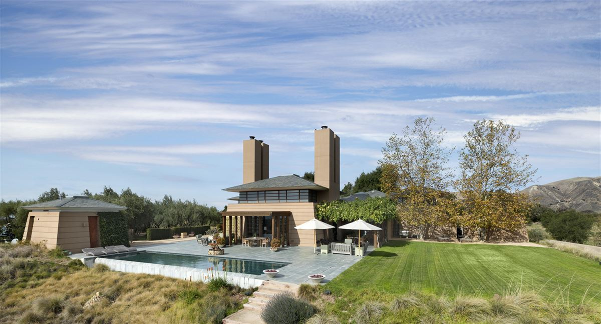 Rancho La Zaca in Santa Barbara luxury homes