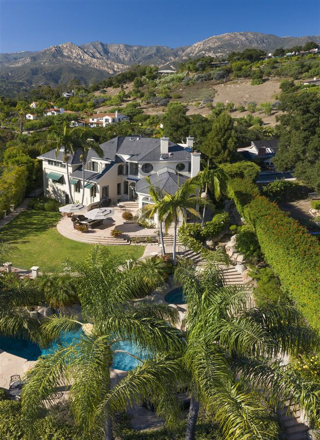 gated estate on the coveted Riviera mansions