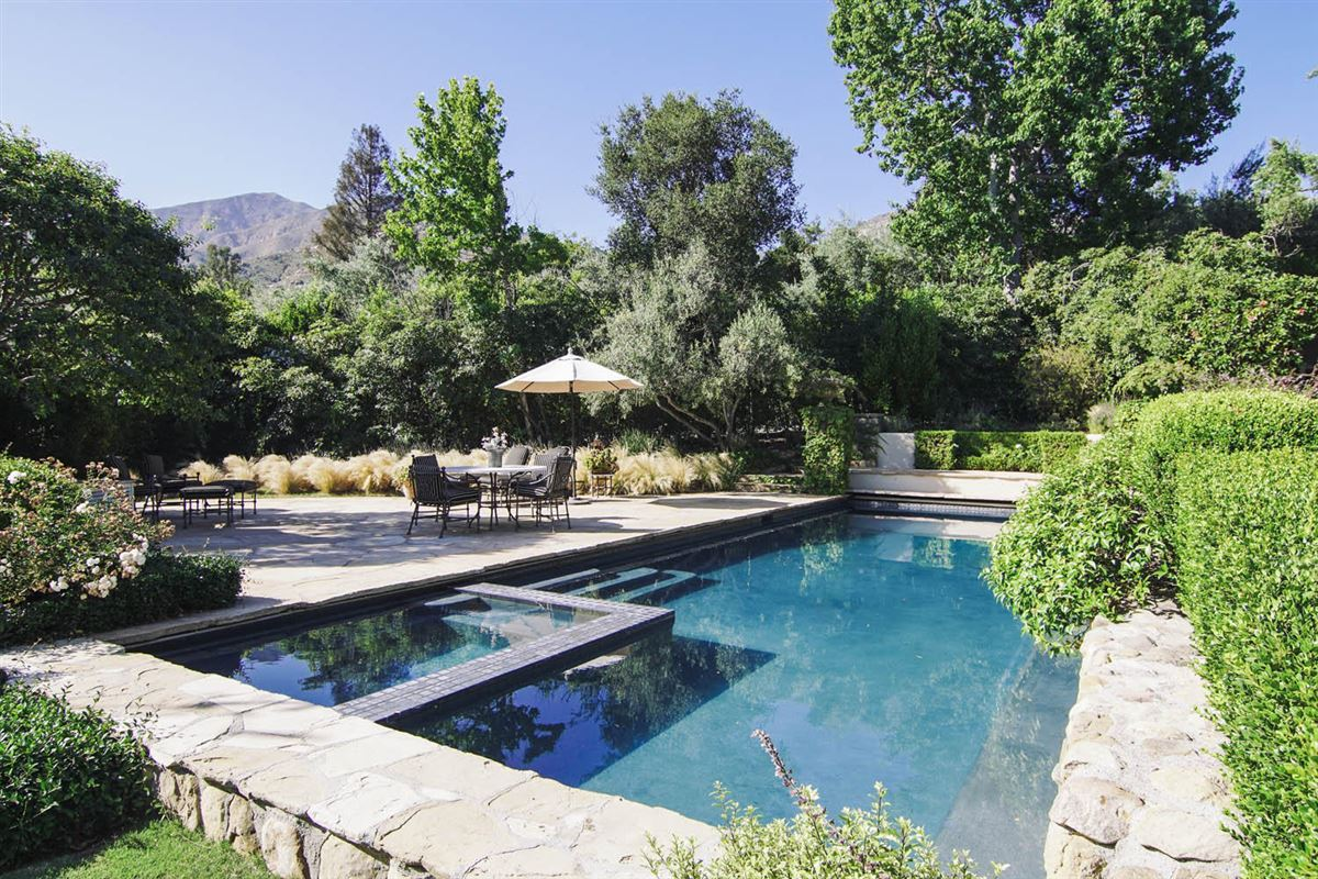 Luxury real estate Beautiful home offers a peaceful oasis