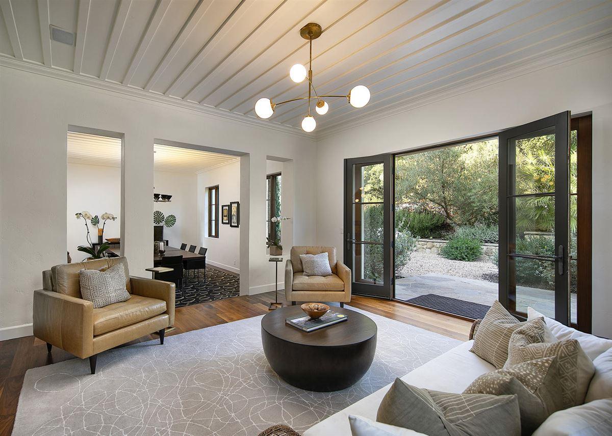 Luxury properties elaborately restored historic home