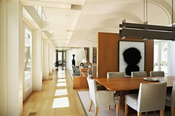 Luxury real estate architecturally significant modernist house