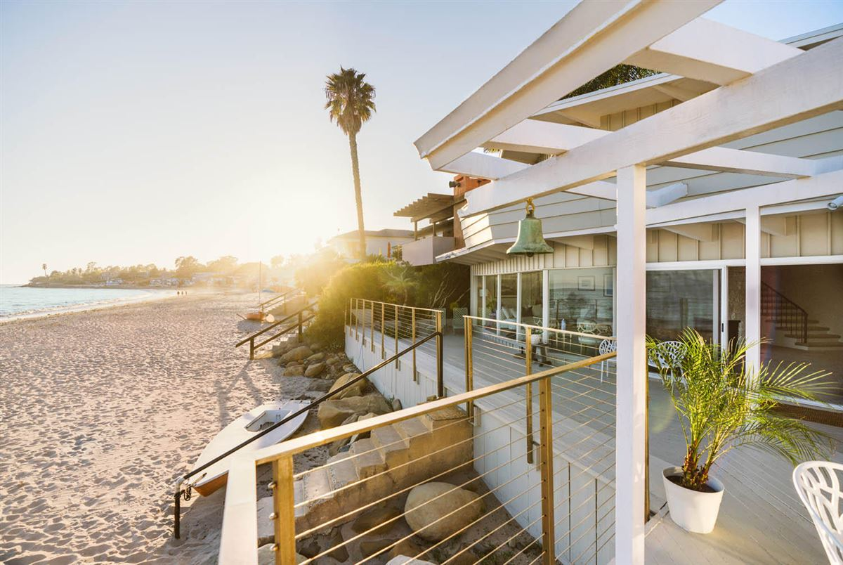 Luxury homes rare opportunity on the sand in Montecito