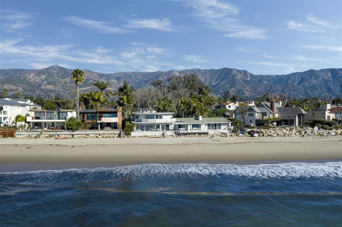 rare opportunity on the sand in Montecito luxury homes