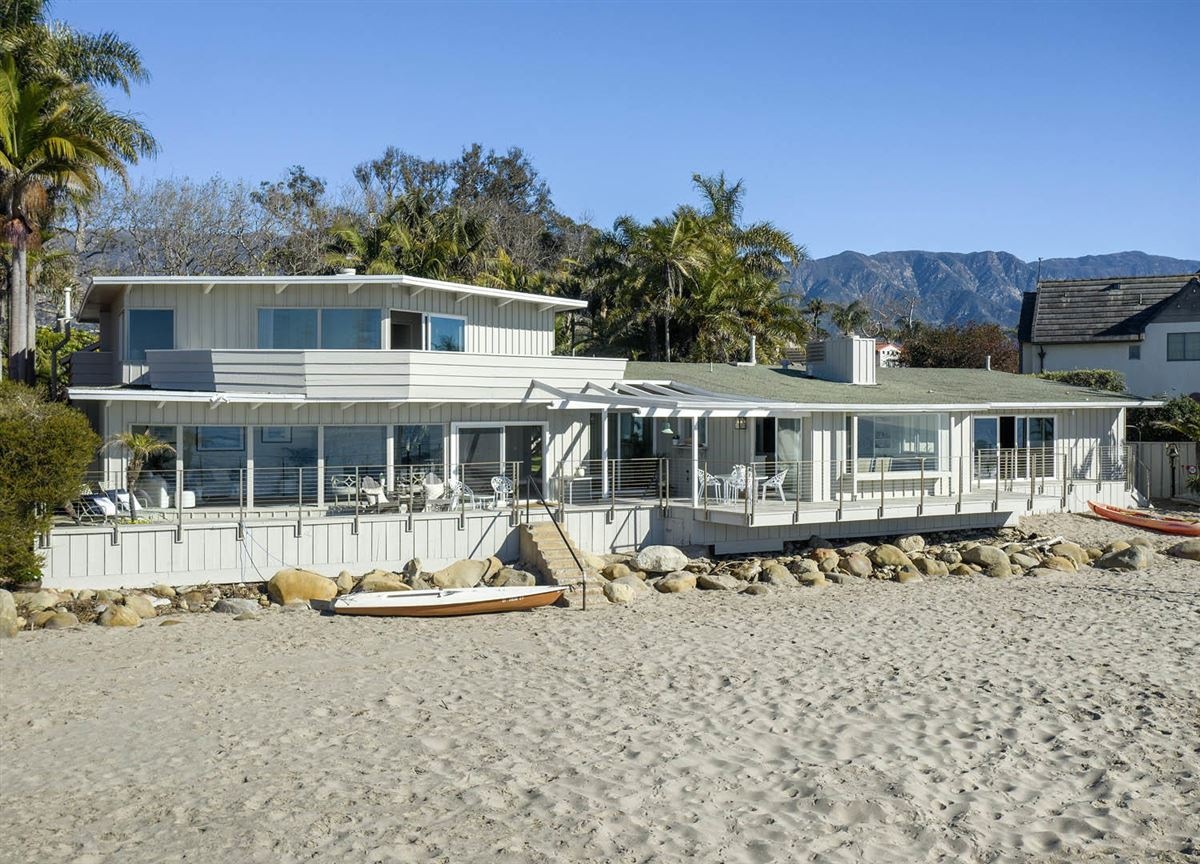 rare opportunity on the sand in Montecito luxury real estate