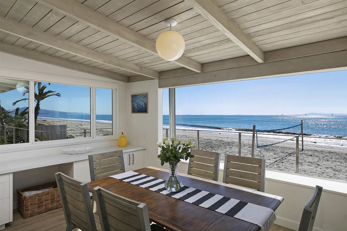 Mansions rare opportunity on the sand in Montecito