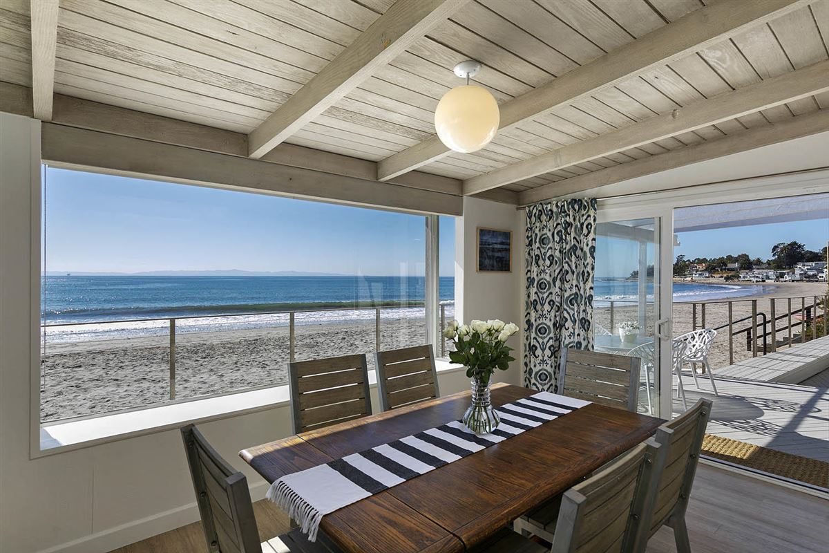 rare opportunity on the sand in Montecito mansions